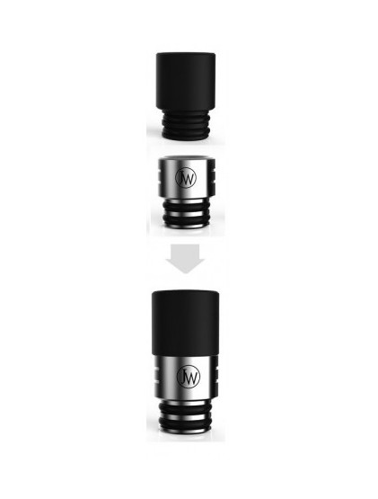 Drip tip Set Metal + Delrin